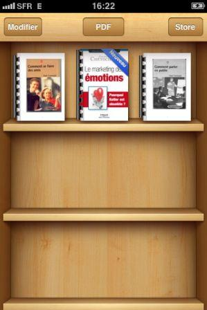 Lire un ebooks sur Ibooks